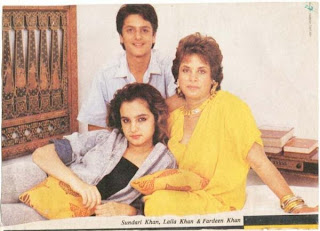 Fardeen Khan Family