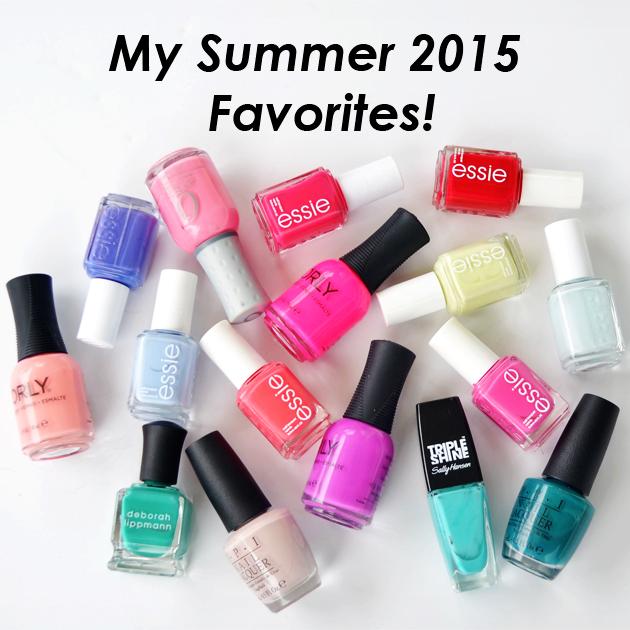 Go Polished: My Summer 2015 Favorites