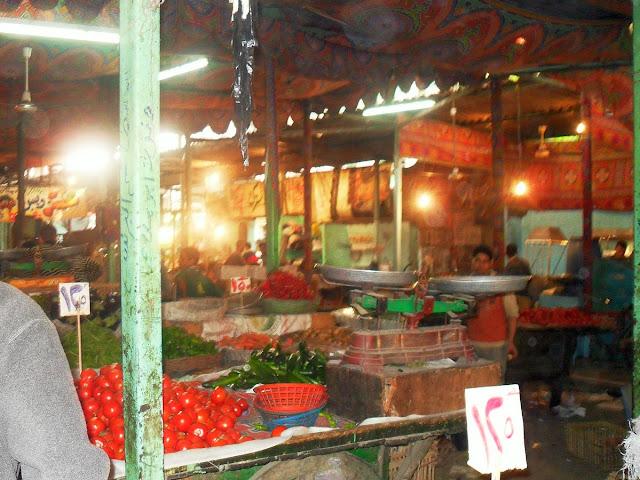 Овощной базар в Каире