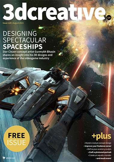 3D Creative Magazine Issue 120 August 2015