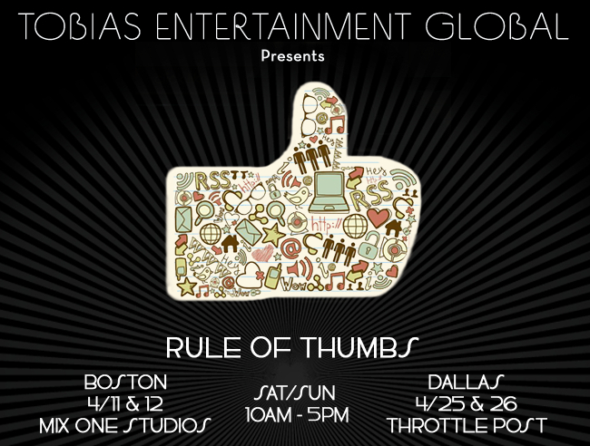 Rule of Thumbs flyer