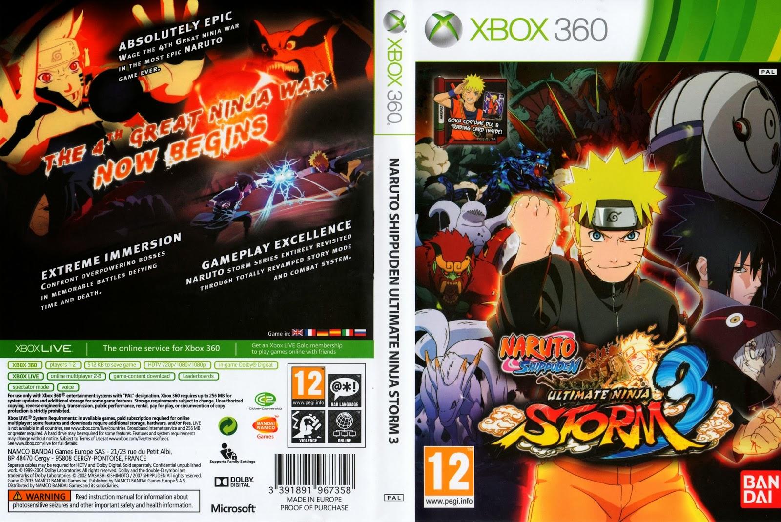 Naruto shippuden ultimate ninja storm revolution xbox360 - zamunda hızlı torrent