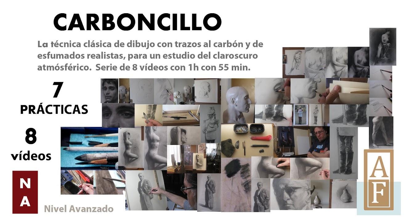 VIDEOCURSO  CARBONCILLO TÉCNICA CLÁSICA