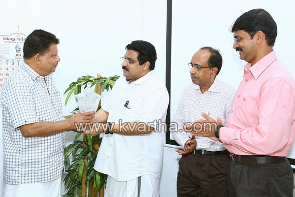 PV Abdul Vahab, PVA Vahab, Award, Reception, Minister MK Muneer, Kerala, Social justice department reception to PV Abdul Vahab