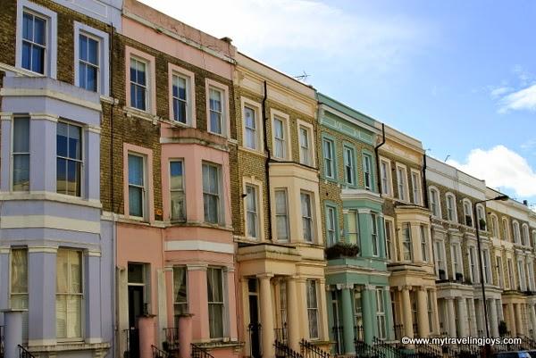 Rainbow Row In London S Notting Hill Neighborhood My