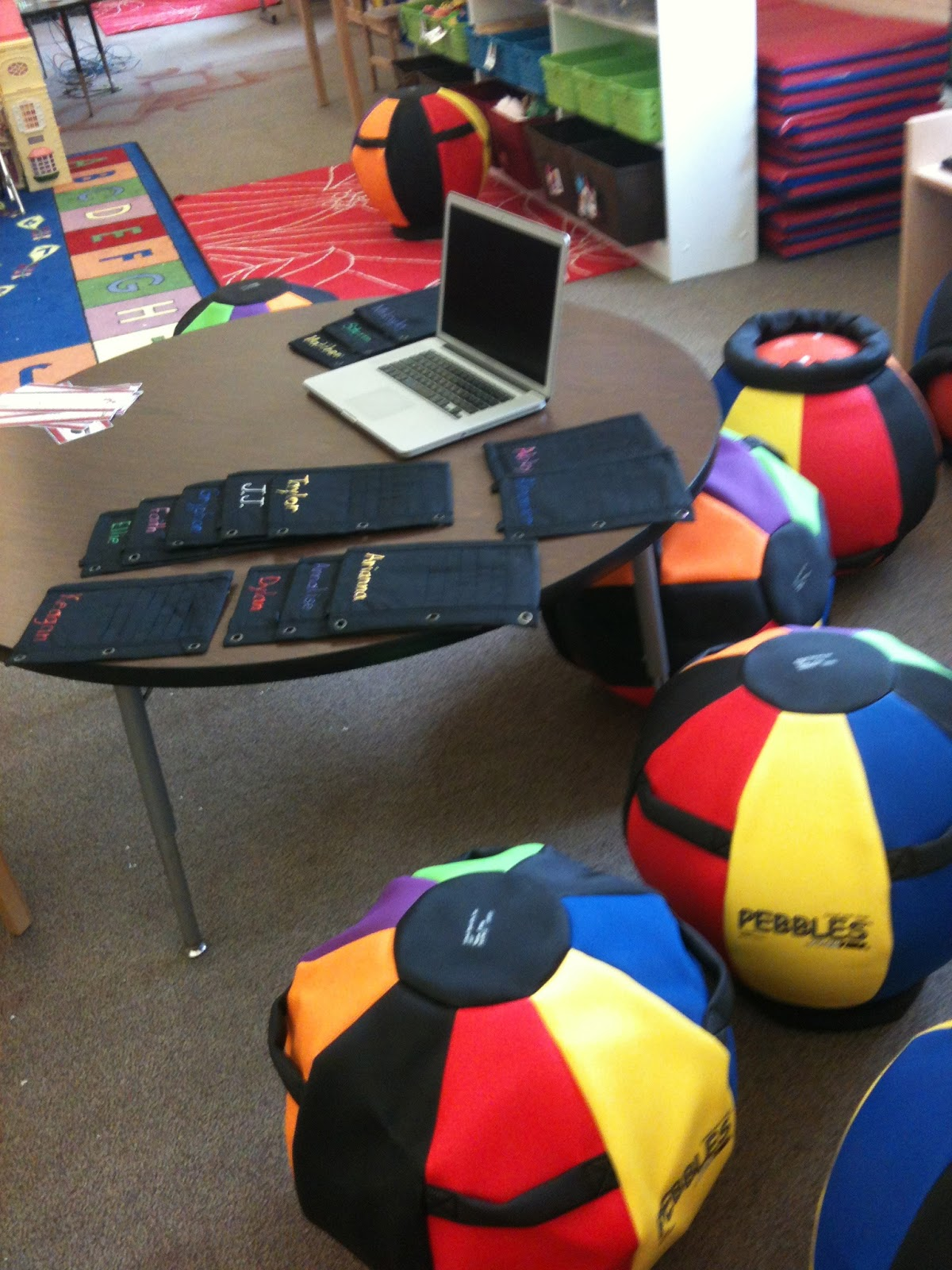 Teacher Tips and Tidbits Ball Chairs for the Classroom Really