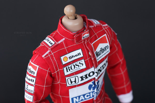 Outfit for Ayrton Senna 1/6 scale action figure