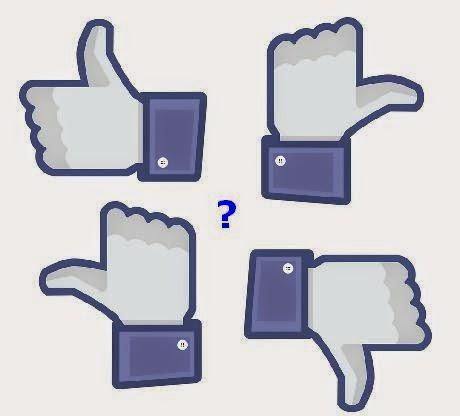 Facebook like circle