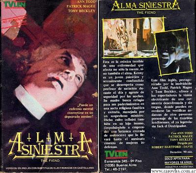 The Fiend (1972) -Alma Siniestra-