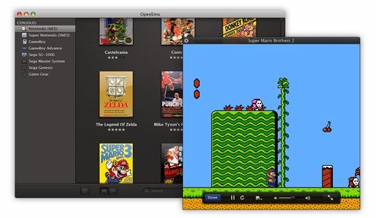 OpenEMU emulatore giochi arcade MAC