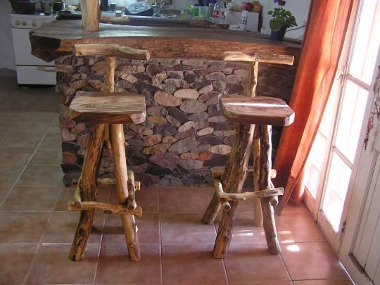 Madera arte muebles rusticos por miguel ruiz bancos - Muebles artesanales de madera ...