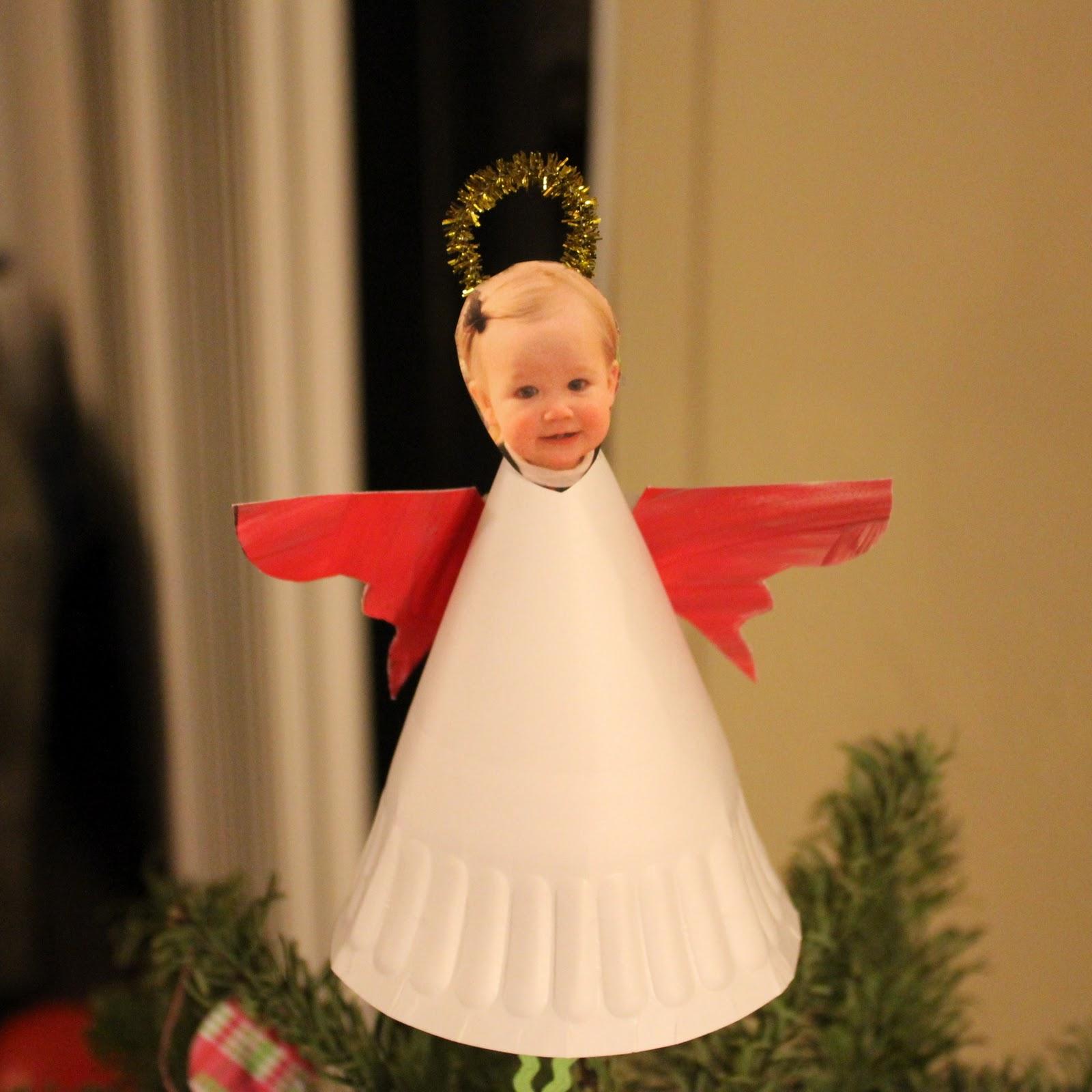 Ангелы своими руками на елку