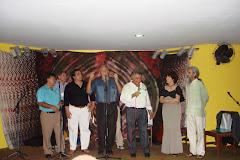 EM SHOW COM DAUDETH, OLIVEIRA, AFRANIO E DI AURÉLIO