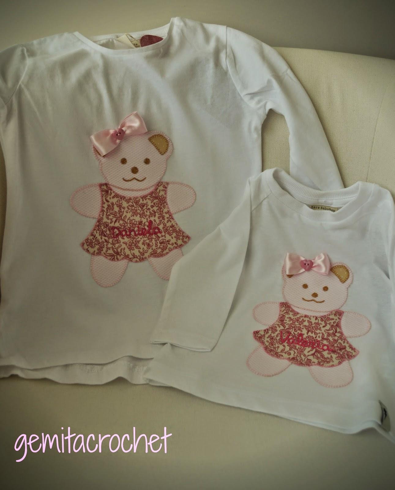 GEMITA CROCHET : Unas camisetas muy tiernas