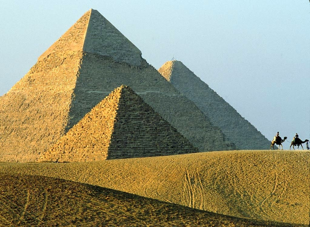 pyramids backgrounds