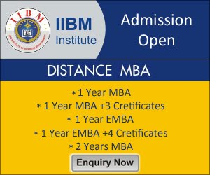 1 Year Distance MBA