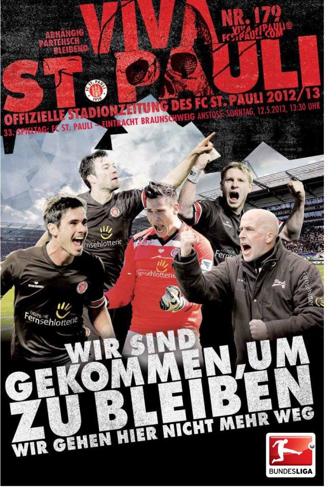 Daqui a pouco: FC St. Pauli : Eintracht Braunschweig - 33ª rodada