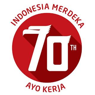 HUT RI ke 70 Indonesia Merdeka Ayo Kerja