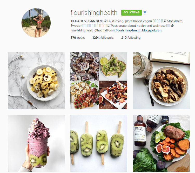 Five fab vegan foodie instagram accounts you must follow curvatude she is only 18 but her passion for vegan food is obvious she posts lots of sweet goodies which is totally my thang forumfinder Images