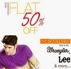 Fashionara: Buy Flat 50% off on Branded Mens Casual Wear