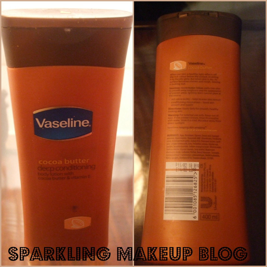Vaseline Lotion Cocoa Butter