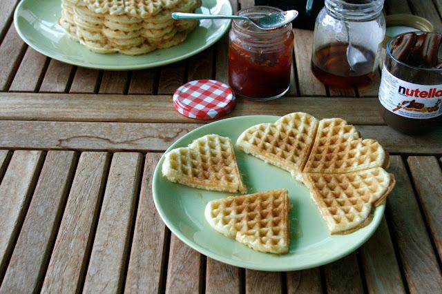 Gofres para desayunar