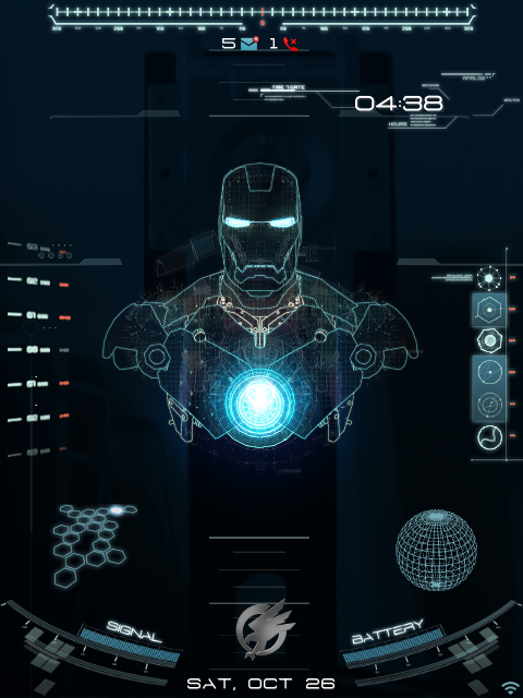 Os7  Animated Jarvis Theme