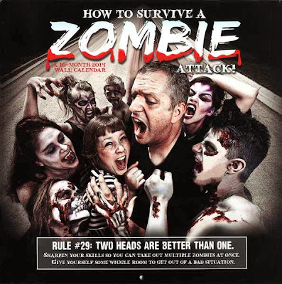 Calendario Zombie 2014