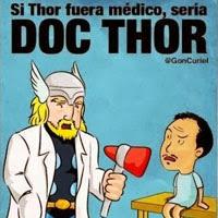 12 chistes / memes y montajes sobre Thor: unos buenos, algunos malos y otros peores