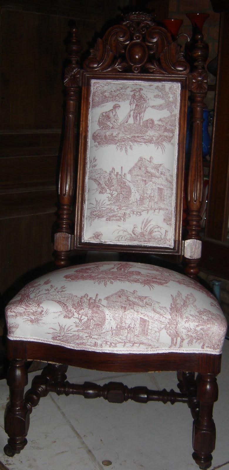 atelier du baron restauration chaise de demoiselle. Black Bedroom Furniture Sets. Home Design Ideas