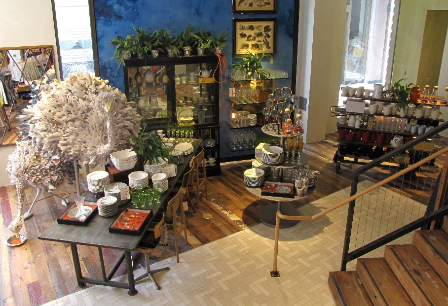 The artful blogger anthropologie opens in vancouver Anthropologie home decor ideas
