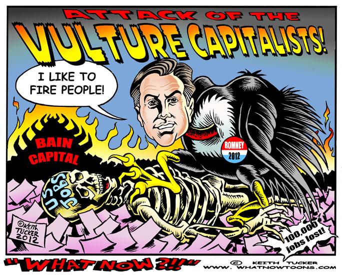 vulture capitalist idol