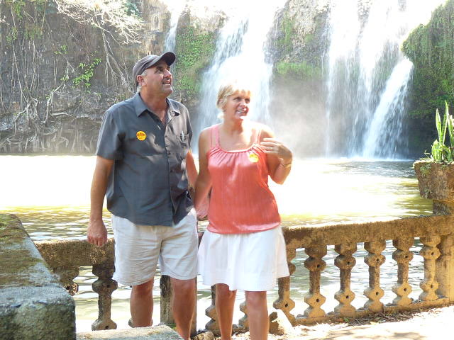 US @ PARONELLA WATERFALL MEENA CREEK QLD