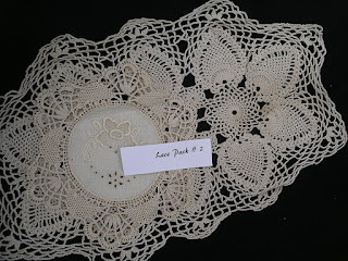 More Doily Packs in my Etsy Shop