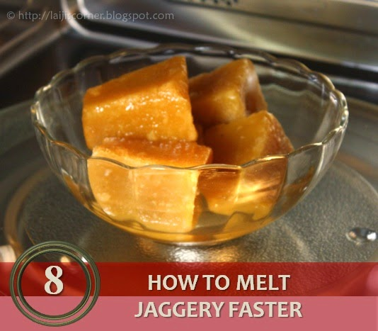 How to melt Jaggery faster