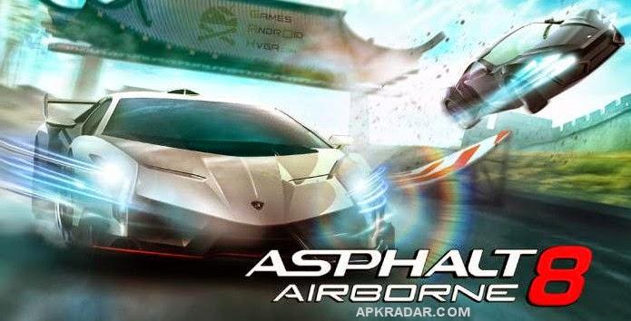 Asphalt 8 Airborne 1.4.0l MOD APK