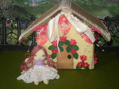 Little House And Fairy Felt