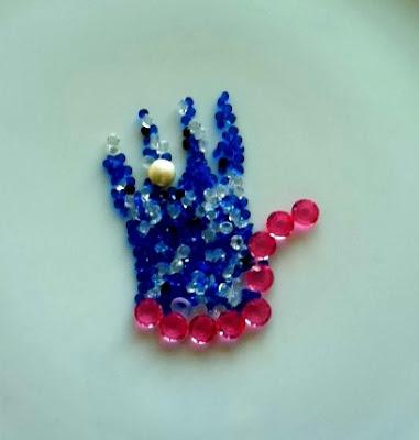 """Swarovski Crystal """"Bling Hand"""""""