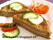 Chlebovo-vajíčkové rezne - recept