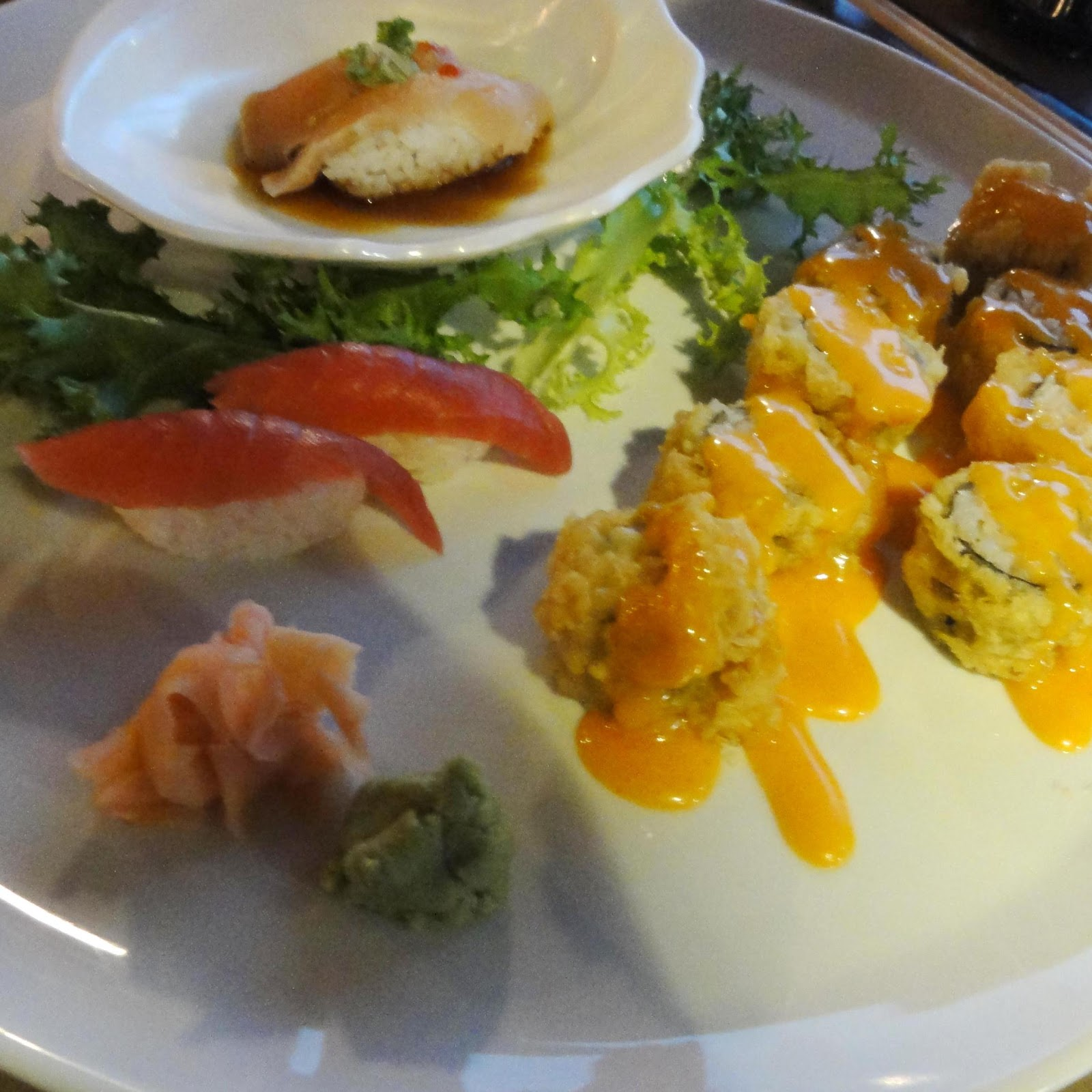 Indianapolis restaurant scene a couple of rolls wild for Fisher fish chicken indianapolis in