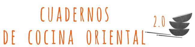 CUADERNOS DE COCINA ORIENTAL 2.0