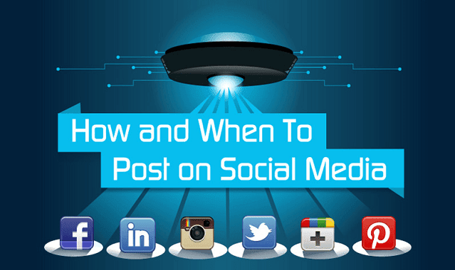 How and When to Post on Social Media
