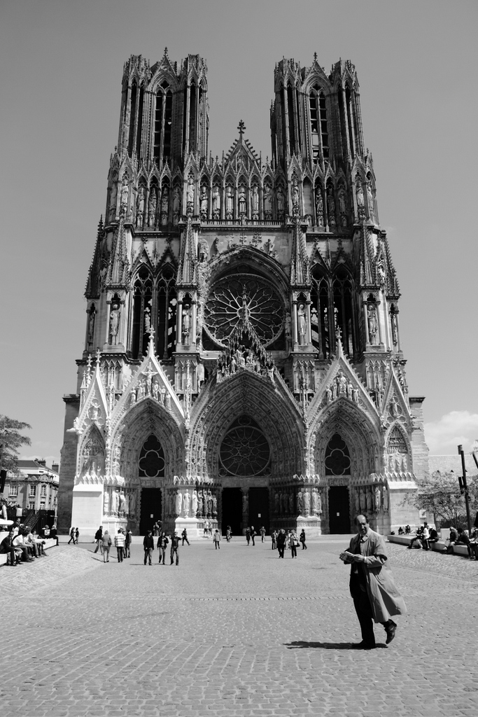 Catedral de Notre-Dame (Reims, France), by Guillermo Aldaya / PhotoConversa