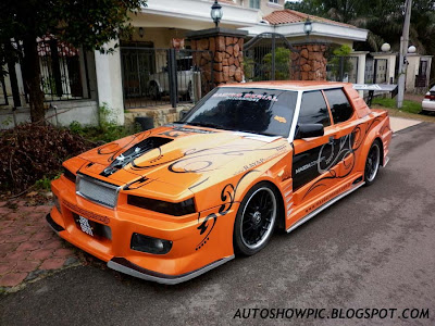 Extreme modified Mazda Classic