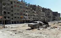 Siria bmbardata