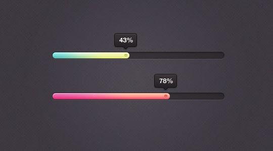 Eye Candy Percentage Bar PSD