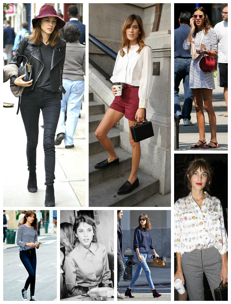 Alexa Chung: Style inspiration by post and pin