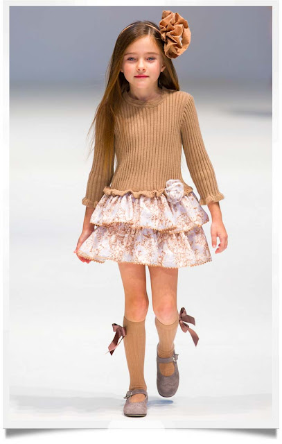 Knit Floral Dress | Tartaleta | Spanish Kids Fashion | Chichi Mary