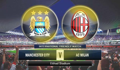 Live Streaming Manchaster City vs Ac Milan