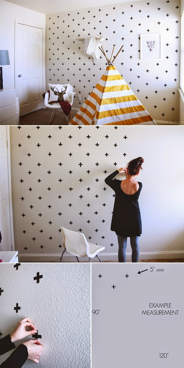 Diy Washi Tape Prepossessing With DIY Washi Tape Wall Picture